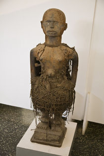 Fetish object in National Museum of Ghana by Danita Delimont