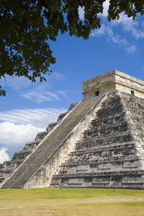The most famous landmark of Chichen Itza by Danita Delimont