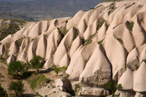 Middle East central part of Turkey in Cappadocia and the volcanic rock formations by Danita Delimont
