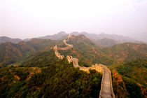 Colorful scenic at the great Wall of China in Jinshanling by Danita Delimont