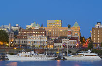 The inner harbour at Victoria British Columbia by Danita Delimont