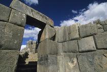 Good example of Inca stonework von Danita Delimont