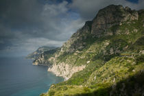 Campania (Amalfi Coast) Positano: Morning View of the Amalfi Coast by Danita Delimont