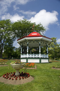 Traditional gazebo by Danita Delimont