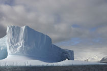 Afternoon sun lights massive tabular iceberg near Livingstone Island von Danita Delimont