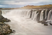 View of Selfoss Waterfall by Danita Delimont
