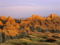 Badlands National Park in South Dakota von Danita Delimont