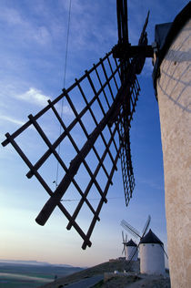 Castile-La Mancha Windmills von Danita Delimont