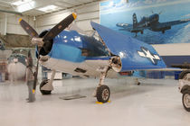 An F-6F Hellcat World War II fighter plane at the Palm Springs Air Museum von Danita Delimont