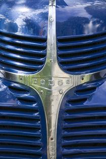 Radiator Grille of a 1938 Dodge Pickup Truck von Danita Delimont