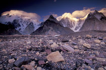 Broad and Gasherbrun Peaks by Danita Delimont
