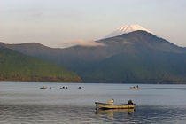 Fuji from Lake Ashi in the Fuji-Hakone-Izu National Park by Danita Delimont