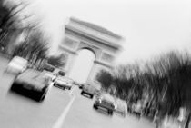 With Arc de Triomphe by Danita Delimont