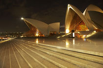 Sydney Opera House at Night by Danita Delimont