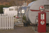 All Vintage Car Trailer Motel von Danita Delimont