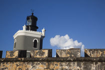 El Morro lighthouse by Danita Delimont