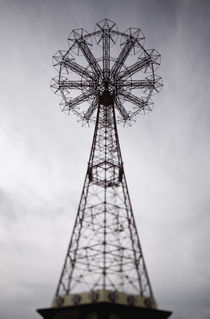 Coney Island Parachute Jump Tower / Defocussed by Danita Delimont