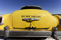 Old Yello Cab taxi on Route 66 von Danita Delimont