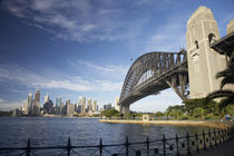 Sydney Harbour Bridge and CBD by Danita Delimont