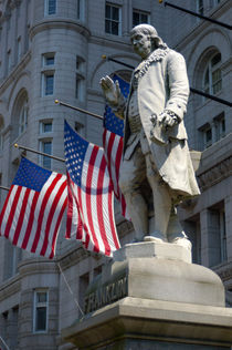 Statue of Benjamin Franklin by Danita Delimont
