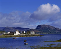 Plockton on Loch Carron is a popular yachting center in the Highland of Scotland by Danita Delimont