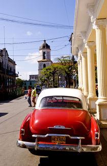 Old classic American auto in Guanabacoa a town near Havana Cuba Habana von Danita Delimont