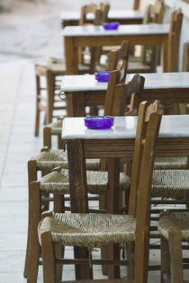 Hania: Venetian Port / Cafe Table / Dawn by Danita Delimont