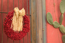 Tucson: Presidio Historic District Christmas / Chili Ristra Wreath von Danita Delimont