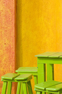 Colorful Building Detail by Danita Delimont