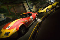 Display of race winning Corvette Sportscars von Danita Delimont