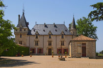 The main building of the estate Chateau de Pressac St Etienne de Lisse Saint Emilion Bordeaux Gironde Aquitaine France von Danita Delimont