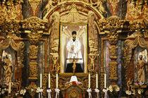 San Xavier del Bac Mission Altar by Danita Delimont