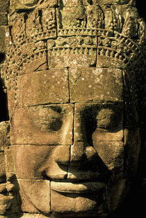 Heads of the Bayon by Danita Delimont