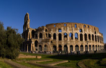 Famous Colosseum in Rome Italy Landmark Monument in Europe by Danita Delimont
