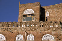 Yemeni architecture detail by Danita Delimont