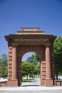 McClellan Gate at Arlington National Cemetary by Danita Delimont