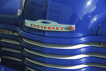Front grill of vintage 1951 pickup truck by Danita Delimont