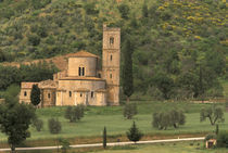 9th Century abbey von Danita Delimont