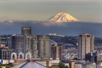 Mount Rainier from Kerry Park by Danita Delimont