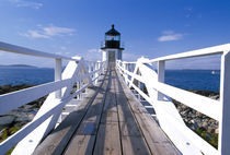 Marshall Point lighthouse von Danita Delimont