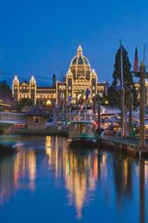 Inner Harbour at Dusk by Danita Delimont
