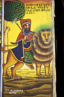 Artwork depicting Lion of Judah by Danita Delimont