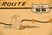 Holbrook Route 66 road mural by Danita Delimont