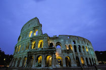Evening view of the colosseo (Colosseum) by Danita Delimont