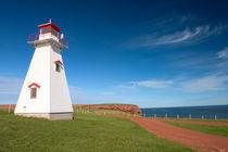 Cape Tryon lighthouse von Danita Delimont