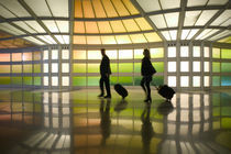 Commuters (NR) Passageway at United Airlines Terminal by Danita Delimont