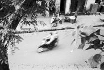 Motorbike in Old Hanoi by Danita Delimont