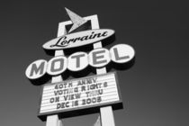 Lorraine Motel Site of the Assassination of Martin Luther King in 1968 von Danita Delimont