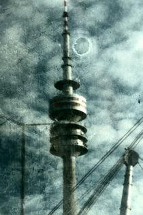 Munich television tower art by Falko Follert
