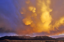 Storm Clouds in the Centennial Range in Montana by Danita Delimont